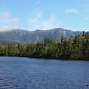 Lonesome Lake and Franconia Ridge