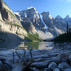 Moraine Lake in the Valley of the Ten Peaks (Banff National Park)