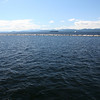 One hour ferry across Lake Champlain (from Burlington, Vermont to Port Kent, NY)