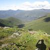 Franconia Ridge on the horizon
