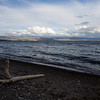 Yellowstone Lake, the largest lake in the lower 48 above 7000 feet