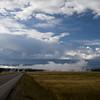 Driving south toward Heart Lake