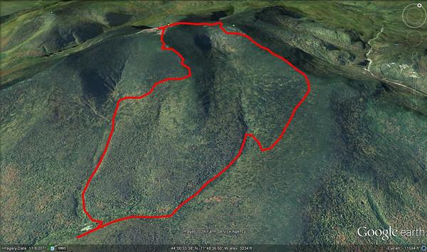 Mt Mooselauke ... July 13, 2012