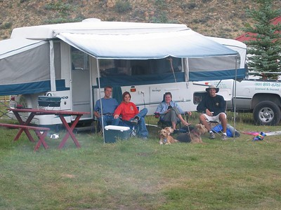 Camping Scofield - August 2004