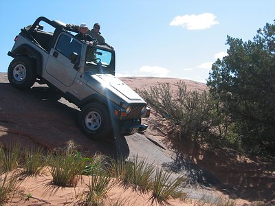 Moab Jeeping 2004