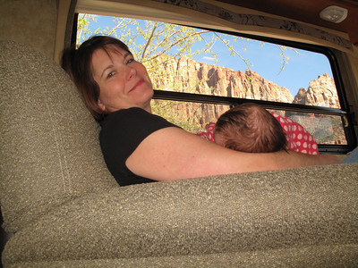 Zions Camping April 2010