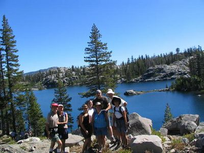 Grouse Ridge Hike Aug '05