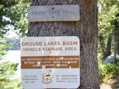 Grouse Ridge Hike Aug '06