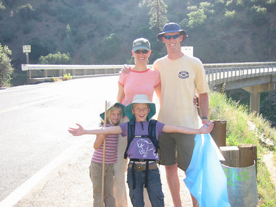 Hiking Service Day - American River - May '07