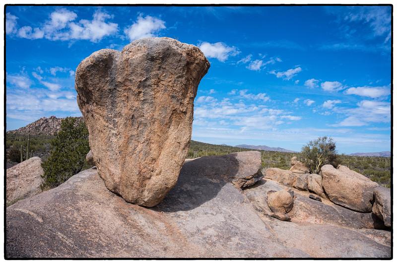 Balancing Rock, McDowell Sonoran Preserve