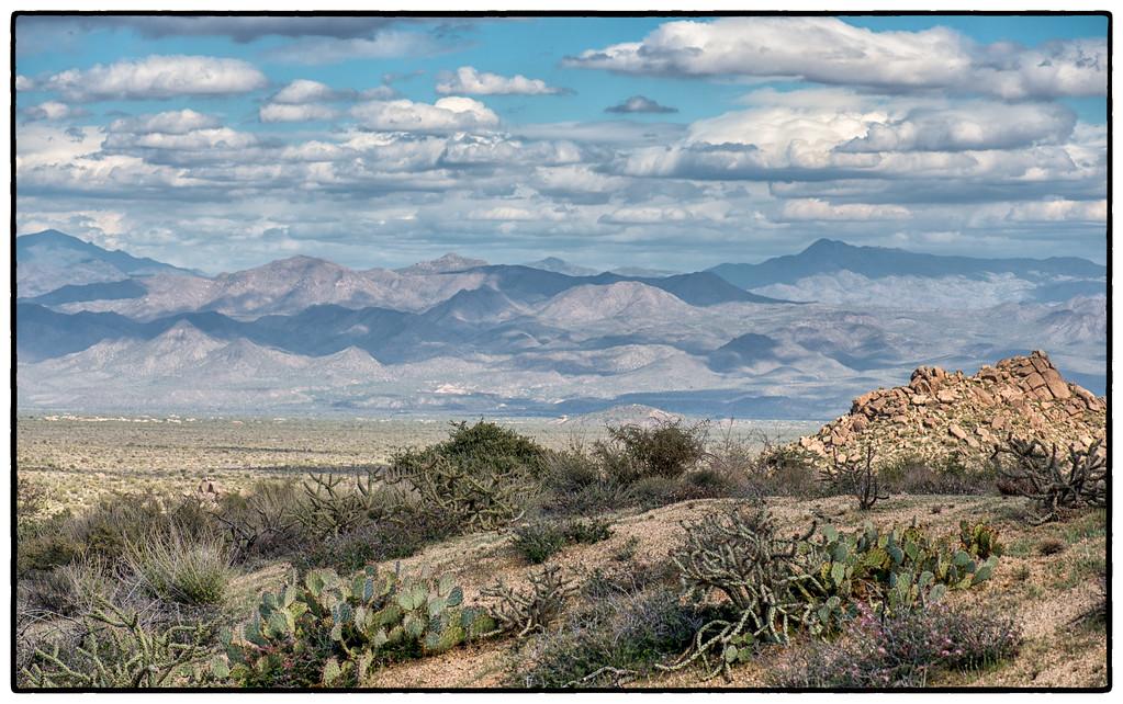 Mazatzal Mountains, Tonto National Forest on the Horizon