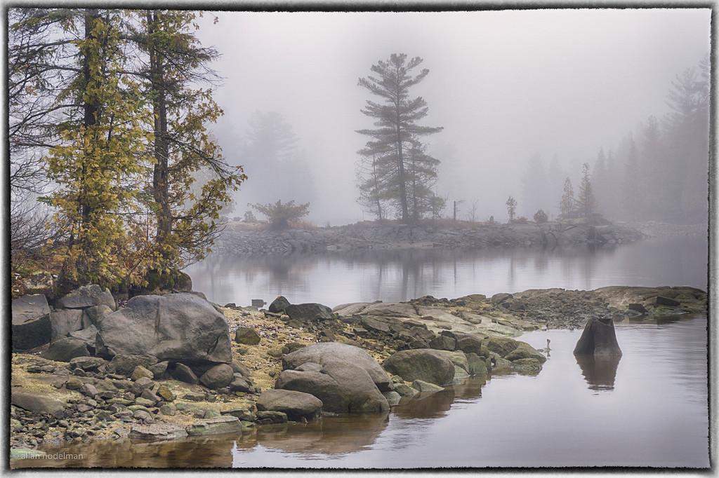 Foggy Day at Morris Island
