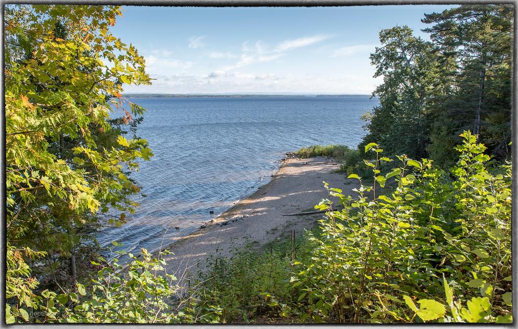 Small Beach on Ottawa River From Gillies Grove Trail