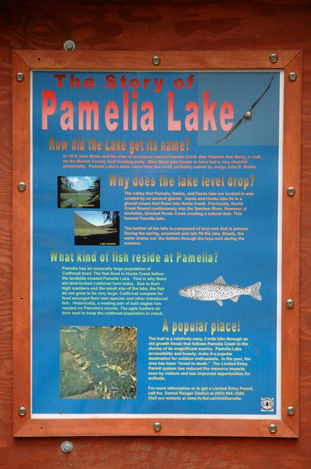 Story of Pamelia Lake