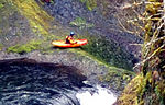 Heavily cropped version of kayaker.
