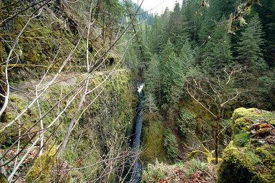 Eagle Creek approaching High Bridge