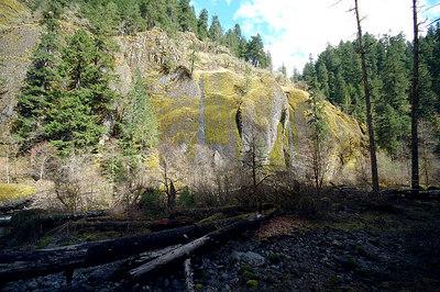 Basalt Cliff Walls