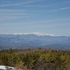 Zoom of Washington, Eastern Slope and Saco River Valley. Carter Notch right.