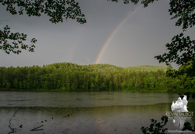 Rainbow at Hatch Pond 8-5-17