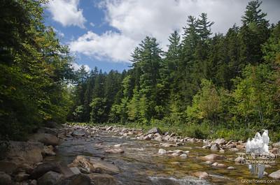 Rockt Gorge, Champney Falls, Willey Pond 9-13-18
