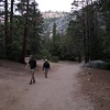 Mist Trail 6:56 am.