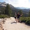 Half Dome Trail 10:41 am.