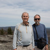 Jerry and me on the little summit