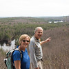 Jerry and Anne on the ledges