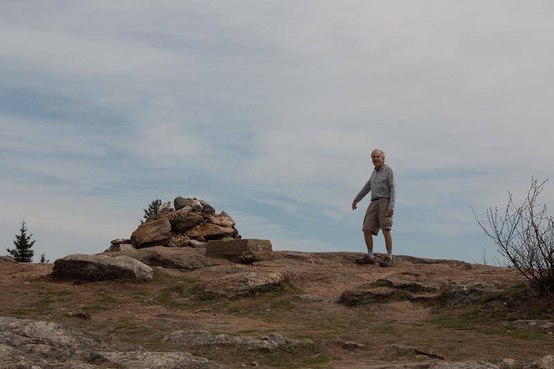 Jerry at the Mt Watatic summit