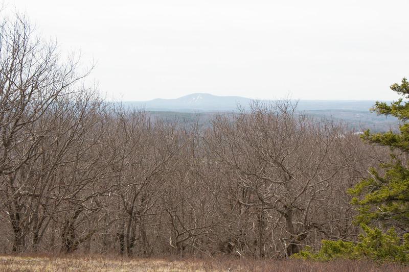View of Mt Wachusett