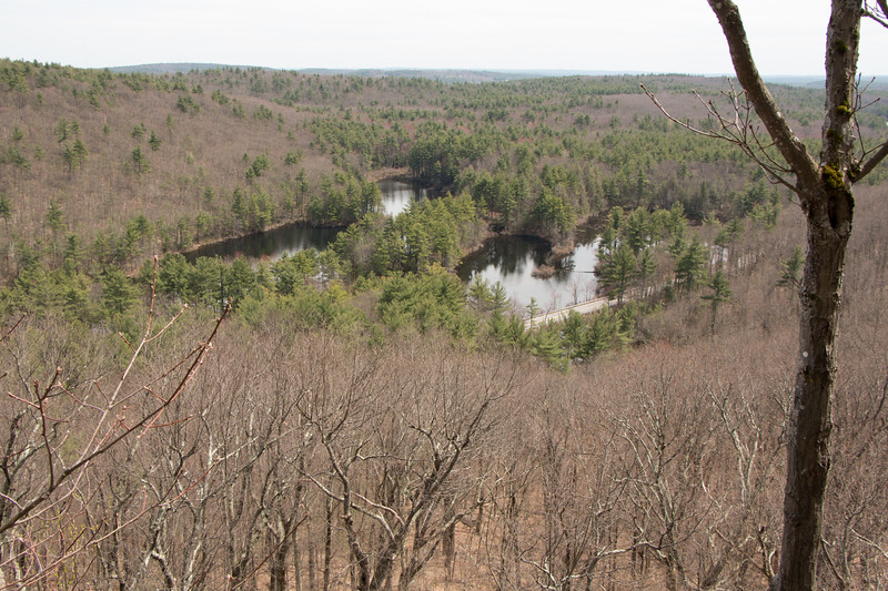 View from the ledges