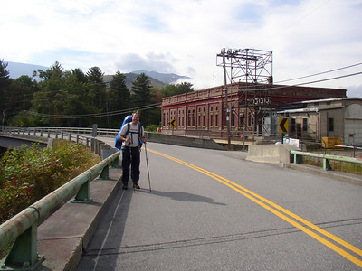 Sherpa Shaggy near the hydroelectric plant