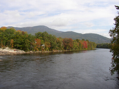 Looking across the Androscoggin