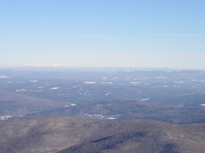 There are the White Mountains in New Hampshire