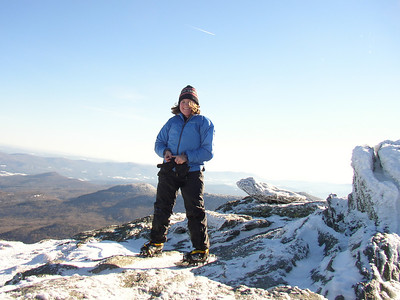 Me on the summit of Camel\'s Hump