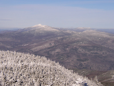 Looking out toward Mt. Mansfield