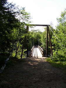 And this would be the bridge over to the Wilderness Trail