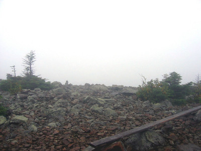 Whitecap is supposed to have great views of Katahdin... this is what I saw