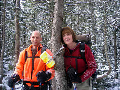 MtnPa and MtnMama on Mt. Nancy