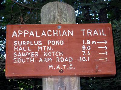 Appalachian Trail: Wyman and Moody Mtn dayhike: July 23