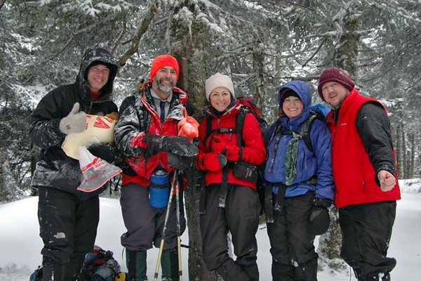 Cabot, Horn and Bulge hike: Jan. 14