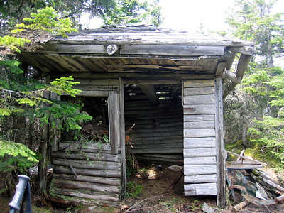 The old fire warden\'s cabin
