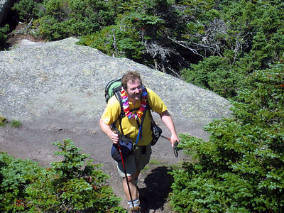 ** HikerBob finishes the New Hampshire Fours on Garfield: Aug. 13 **