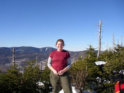 Me on Mt. Tom, my 12th peak on the winter NH 48 list