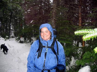 Me on East Osceola, my 18th winter peak on the NH48 list