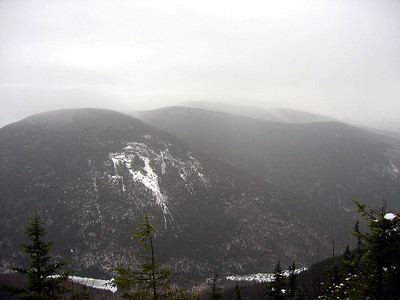 View of Mt. Kancamagus from the East Osceola slide