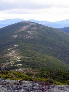 The rocky path up Saddleback, the Horn