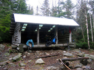Spaulding Mtn Lean-to, our home for the night