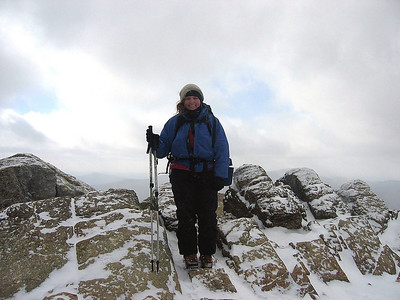 Me atop Liberty, my 31st peak on the winter list