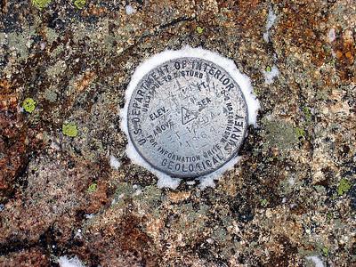 Liberty\'s summit marker